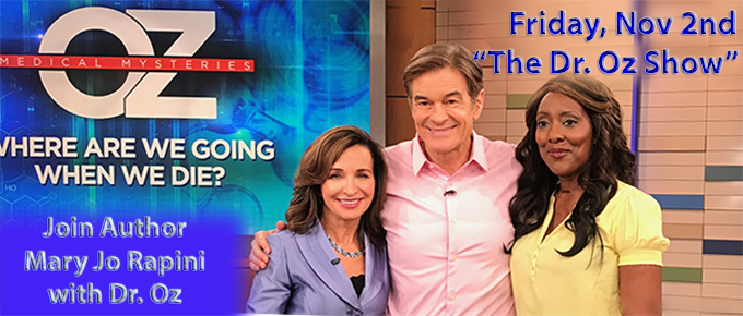 Mary Jo Rapini on The Dr. Oz Show tv appearance